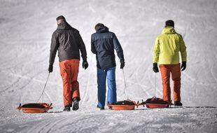 Faute de remontées mécaniques, on peut faire de la luge ou du dépistage dans les stations de ski de Haute-Garonne. Illustration.