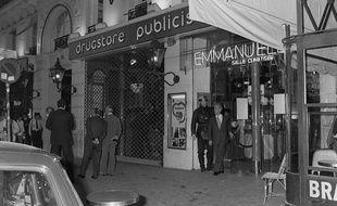 Le Drugstore Saint-Germain décoré par Slavik avait été l'objet d'un attentat en 1974