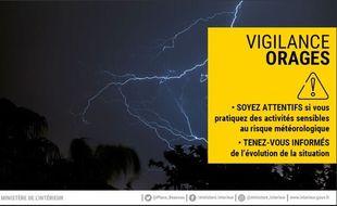 Vigilance jaune - Var