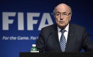 Sepp Blatter le 2 juin 2015.