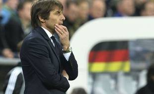Antonio Conte lors de Allemagne-Italie le 29 mars 2016.