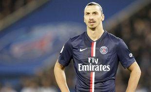 Zlatan Ibrahimovic lors de la rencontre entre le PSG et Nice le 29 novembre 2014.