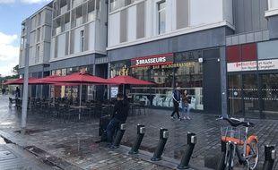 Une brasserie s'est installée début octobre au Carré Feydeau à Nantes