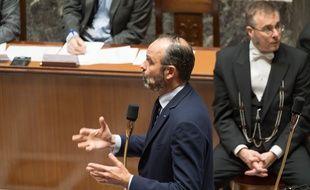 Edouard Philippe lors des questions au gouvernement, le 10 décembre 2019.