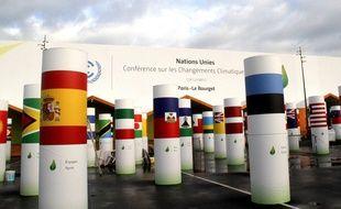 L'entrée du Bourget où se tiendra la COP21