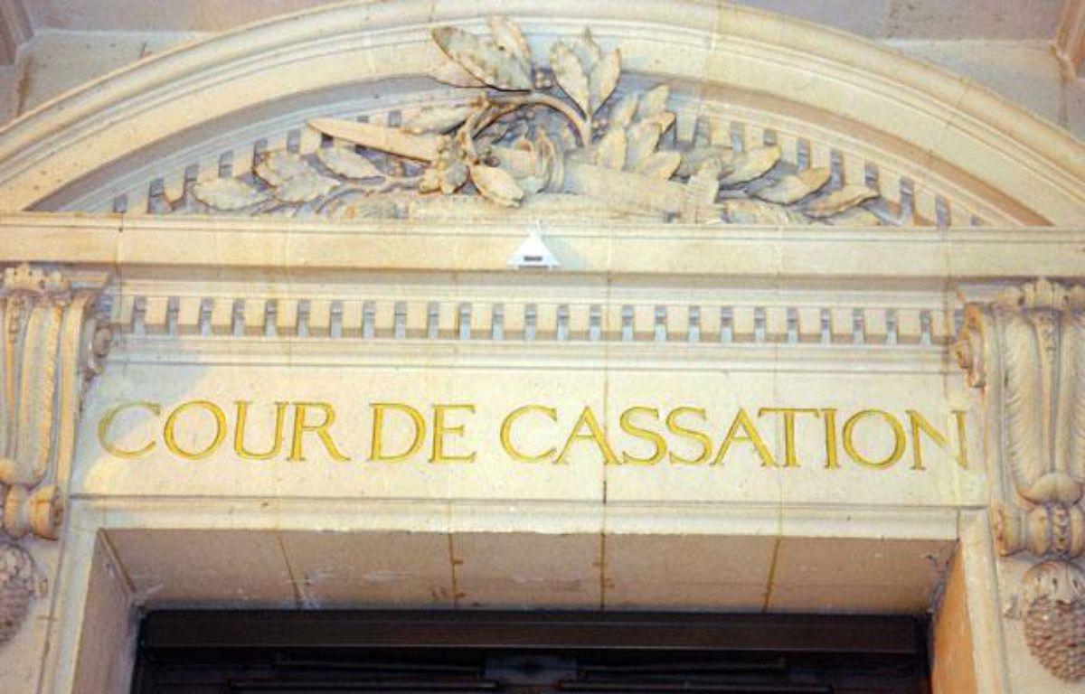 Entrée de la Cour de cassation à Paris en 2006.  – DURAND FLORENCE/SIPA