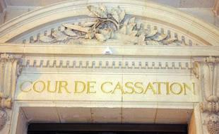 Entrée de la Cour de cassation à Paris en 2006.