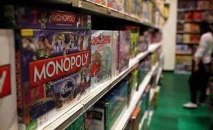 Un jeu de Monopoly dans un magasin new-yorkais.