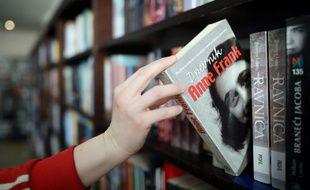 Le «Journal d'Anne Frank», en bibliothèque.