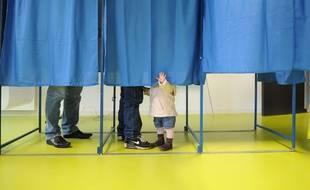 Illustration d'un bureau de vote lors des élections cantonales de 2011. F. Elsner/ 20 Minutes