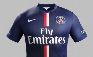 Le nouveau maillot du PSG.