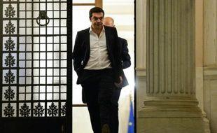 Le Premier ministre grec Alexis Tsipras, le 14 juillet 2015 à Athènes