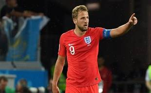 Harry Kane le capitaine Anglais