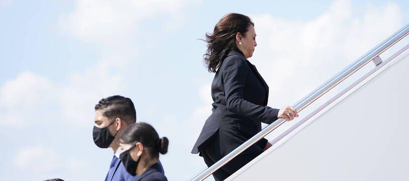 L'avion de Kamala Harris a dû faire demi-tour dimanche 6 juin à cause d'un problème technique