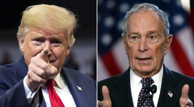 Michael Bloomberg loue des panneaux publicitaires pour se moquer de Trump