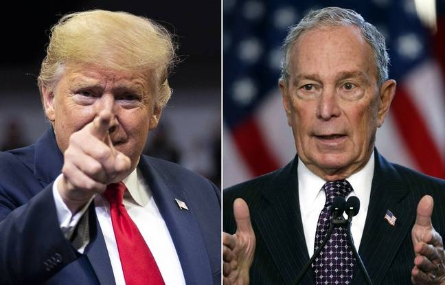 Michael Bloomberg se moque de Donald Trump sur d'immenses panneaux publicitaires à Las Vegas