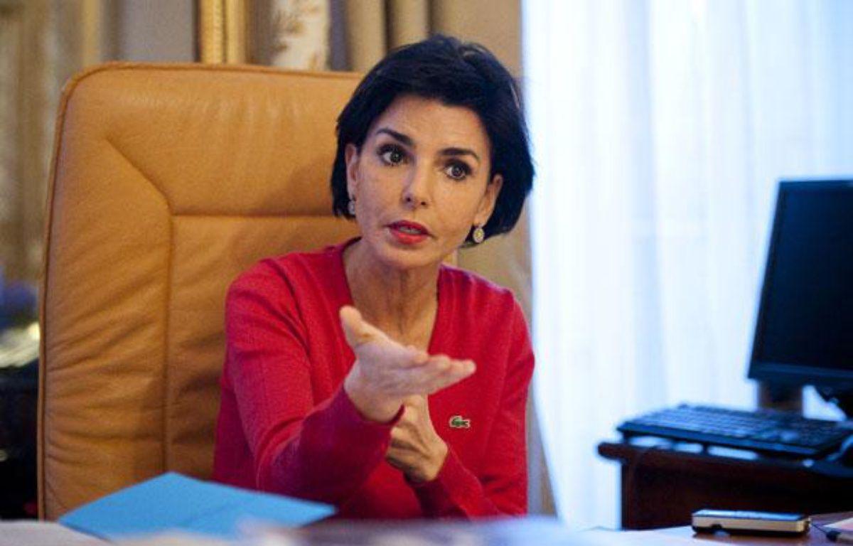 La maire UMP du 7e arrondissement de Paris, Rachida Dati, le 14 mars 2012. – V.WARTNER / 20 MINUTES