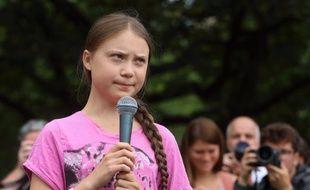 Greta Thunberg, ici en Allemagne, à Berlin, récemment.