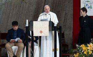 Le pape François le 25 novembre 2019 à Tokyo.
