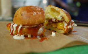 Le burger aux champignons magiques de Big Mamma pour La Felicità