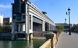 Le ministère des Finances à Paris, le 8 avril 2020.