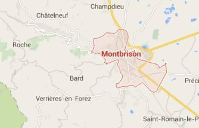 Montbrison, dans la Loire, où ont été découvertes deux têtes de mannequins empalées.