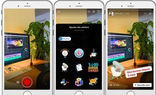 LinkedIn adapte au monde pro les codes de la story popularisés par Snapchat