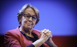 Marylise Lebranchu, Ministre de la Décentralisation et de la Fonction Publique, lors du 97e congrès des maires, le 27 novembre 2014.