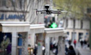 Un drone de la police nationale (image d'illustration).