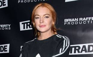 L'actrice Lindsay Lohan
