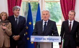 Jean-Marc Ayrault, à l'issue de la réunion ministérielle sur la crise en Bretagne
