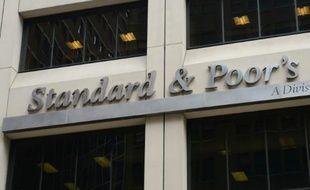 Le siège de l'agence de notation Standard & Poor's à New York, le 18 septembre 2012