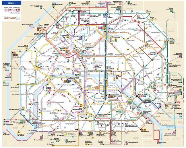 Carte Bordeaux Transport En Commun.Paris Cinq Nouvelles Lignes 42 Lignes Modifiees Voici