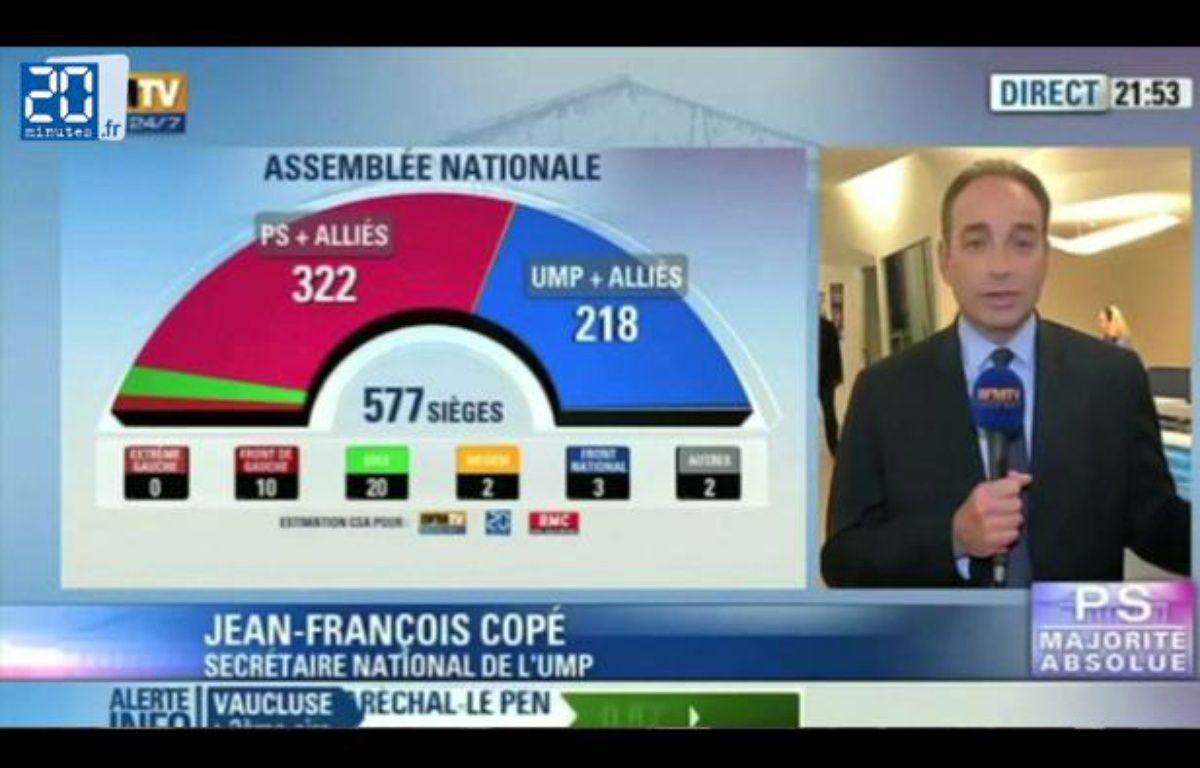 Zapping du second tour des législatives 2012. – 20 MINUTES
