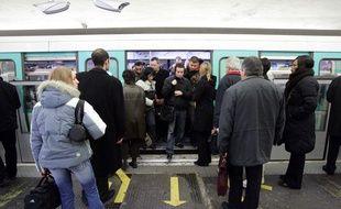 Illustration d'un métro ligne 13