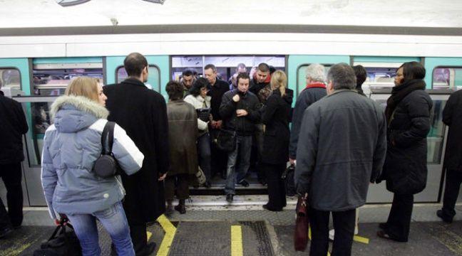 Illustration d'un métro ligne 13 – POUZET