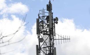 Une antenne relais de téléphonie mobile. (illustration)