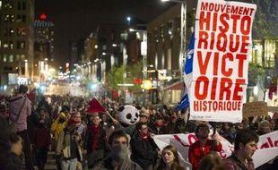 Plus de 300 personnes ont été arrêtées et 10 blessées lors d'une nouvelle manifestation étudiante dans la nuit de dimanche à lundi à Montréal, selon un nouveau bilan communiqué par les autorités.
