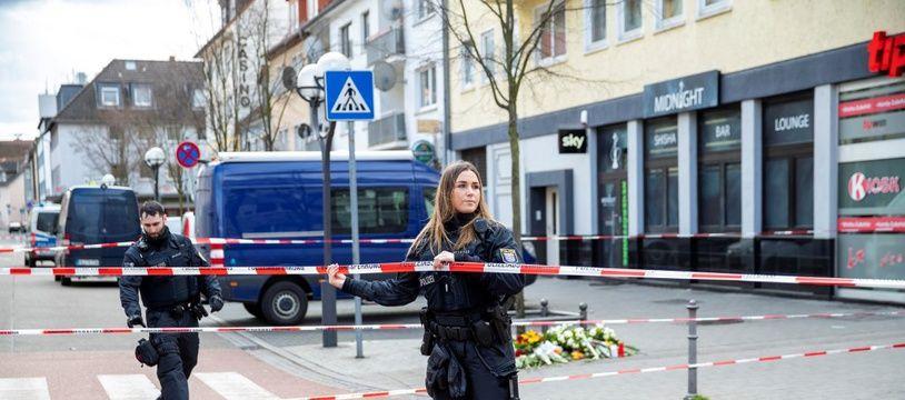 Une double fusillade a fait 9 morts, mercredi, à Hanau en Allemagne, le 21 février 2020.
