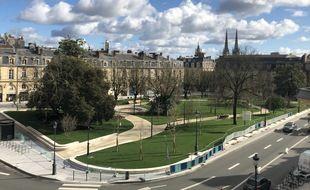La nouvelle place Gambetta, à Bordeaux, réouvrira vendredi 19 février
