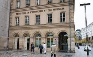 Le ministère de l'Economie et des Finances, à Paris (illustration).