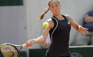 Diane Parry s'est qualifiée pour le 2e tour de Roland-Garros, le 27 mai 2019.