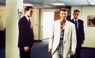 Kyle MacLachlan, David Bowie et Miguel Ferrer dans les premières saisons de « Twin Peaks ».
