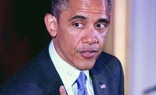 Le président américain, Barack Obama, lors de son discours à la Maison Blanche, le 28 mai 2013.