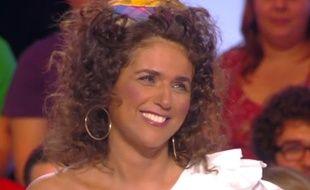 Valérie Benaïm déguisée le 21 mars 2014 dans Touche pas à mon poste sur D8