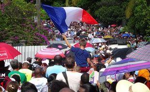 Une marche était organisée à Mayotte pour dénoncer la violence et l'insécurité dans l'île
