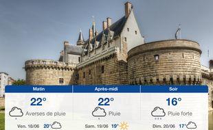 Météo Nantes: Prévisions du jeudi 17 juin 2021