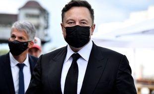 Elon Musk à Berlin le 2 septembre 2020.
