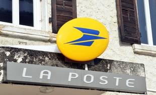 Illustration du logo de La Poste.