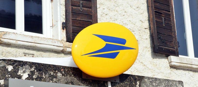 Illustration du logo de La Poste.